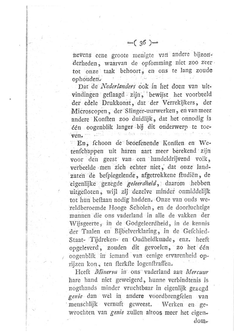 Willem Anthonij Ockerse Ontwerp Tot Eene Algemeene Characterkunde